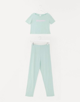 Adolescent Clothing playmate t-shirt and trousers pyjama set