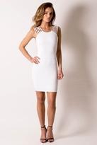 Donna Mizani Ultra Soft Multi Strap Dress in Frost