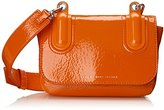 Marc by Marc Jacobs Ball and Chain Bubble Patent Bond Cross Body Bag