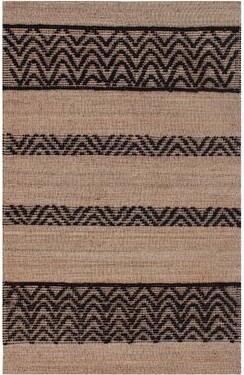 Imagine Home Hatteras Chevron Handmade Flatweave Jute/Sisal/Wool Brown Area Rug Rug Size: Rectangle 8' x 10'