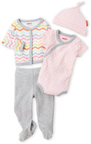 Skip Hop Newborn Girls) 4-Piece Bodysuit & Pants Set
