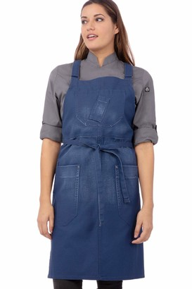 Chef Works Galveston Cross-Back Bib Apron