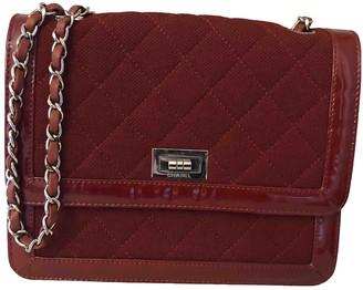 Chanel 2.55 Burgundy Patent leather Handbags