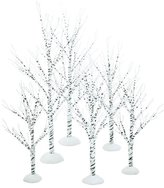 Department 56 Village Winter Birch Set of 6, Wrapped Wire