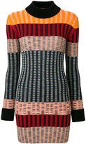 Missoni striped ribbed knit dress