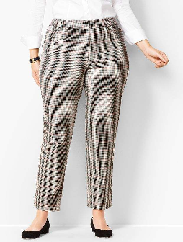 ab2edc515c Talbots Plus Size Pants - ShopStyle