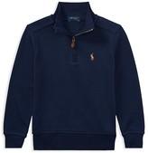 Ralph Lauren Boys' Quarter-Zip Sweater - Little Kid