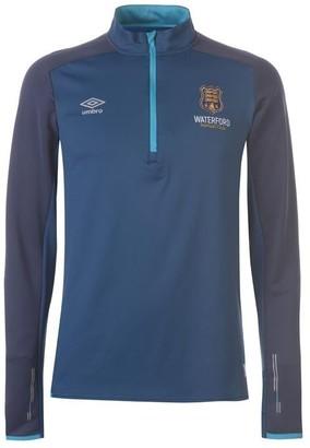 Umbro Waterford FC Half Zip Pullover Mens