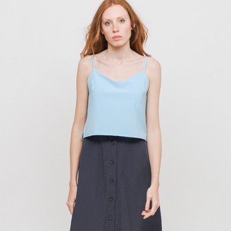 Side Party - Vivid Blue Layer Up Tank Top - SM - Blue