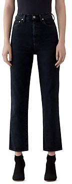 AGOLDE Pinch High-Rise Kick-Flare Jeans in Realm