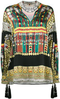 Etro embroidered tunic blouse - women - Silk/Cotton/Polyester/Viscose - 38
