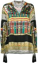 Etro printed tunic blouse - women - Silk/Cotton/Polyester/Viscose - 42