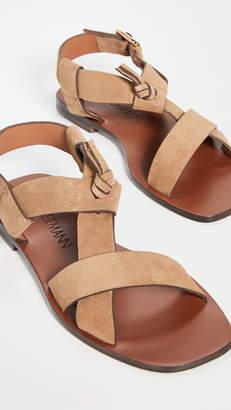 Zimmermann Cross Over Flat Sandals