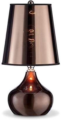 """o.r.e International K-818T-CP 18"""" Luster Touch-On Cappuccino Table Lamp"""