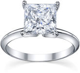 JCPenney FINE JEWELRY Diamonore Simulated Diamond Ring