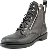 Marc by Marc Jacobs Montague Women Round Toe Leather Black Boot.