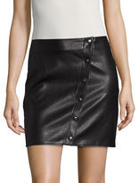 Missguided Faux Leather Mini Skirt