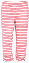 Bloomie's Girls' Scrunched Striped Leggings, Baby - 100% Exclusive