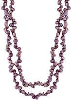 Bella Pearl Purple Keshi Pearl Endless Necklace