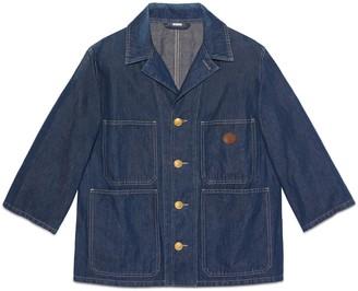Gucci Stonewashed denim jacket
