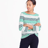 J.Crew Striped boatneck T-shirt