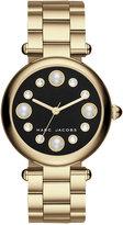 Marc Jacobs Women's Dotty Gold-Tone Stainless Steel Bracelet Watch 34mm MJ3486