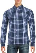 Superdry Plaid Button-Front Shirt