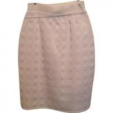Christian Dior Ecru Silk Skirt