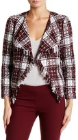 Insight Tweed Fringe Blazer