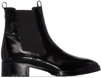 AEYDĒ Karlo leather Chelsea boots