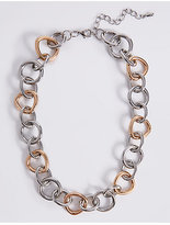 Limited Edition Tri Circle Link Necklace