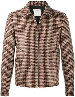 Sandro Camille houndstooth jacket