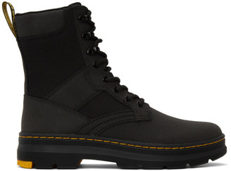 Dr. Martens Black Iowa Boots