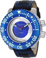 """Android Men's AD733BBUBU DM Gauge """"Blades"""" Analog Japanese-Automatic Watch"""