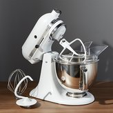 Crate & Barrel KitchenAid ® Artisan Matte White Stand Mixer