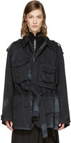 Acne Studios Black Liv Co S Stone Jacket