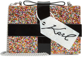 Karl Lagerfeld Glitter Box Clutch