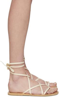 Ancient Greek Sandals Off-White Morfi Sandals