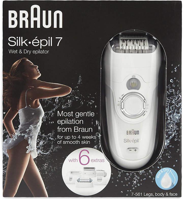 Braun Silk 7 wet & dry epilator