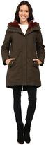 Vince Camuto Faux Fur Trim Parka L1051 Women's Coat