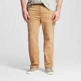 Mossimo Men's Big & Tall Straight Jeans Khaki