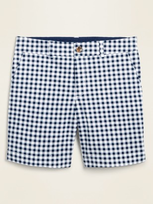 Old Navy Mid-Rise Printed Everyday Shorts for Women -- 7-inch inseam