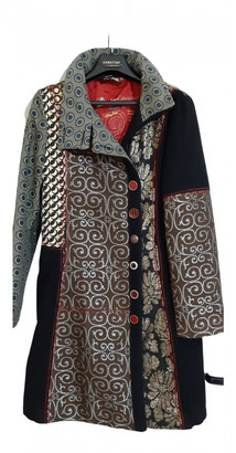 Desigual Multicolour Wool Coats