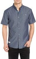 7 Diamonds Men's Digital Dash Slim Fit Shirt