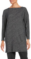 Eileen Fisher Textured Long Sleeve Tunic