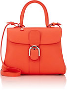 Delvaux Women's Brillant MM Sellier Satchel-RED