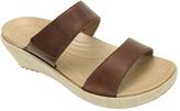 Crocs Women's A-leigh 2-strap Mini Wedge Sandal