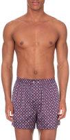 Derek Rose Brindisi Silk Boxer Shorts