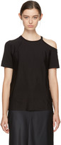 Helmut Lang Black Deconstructed T-shirt
