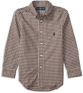 Ralph Lauren Boys' Plaid Poplin Shirt - Sizes 4-7